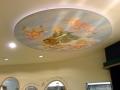 Deckenmalerei Notburga im Himmel