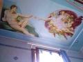 Deckenmalerei Erschaffung Adams