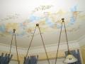 Deckenmalerei mit Engeln und Olivenzweigen