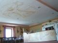 Deckenmalerei mit Motiven von Da Vinci