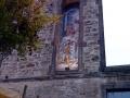 Fassadenmalerei mit Portraitmalerei