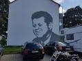Fassadenmalerei und Portraitmalerei JFK