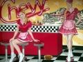 Wandmalerei Diner Girls im Retrostyle