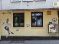 Fassadenmalerei und Portraitmalerei franz beckenbauer