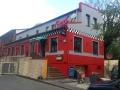 Fassadenbemalung American Diner