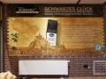 Kaffee Werbemalerei Schwarzes Glück