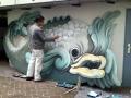 Malen eines Barock Fisches