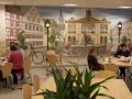 Wandmalerei deutscher Marktplatz