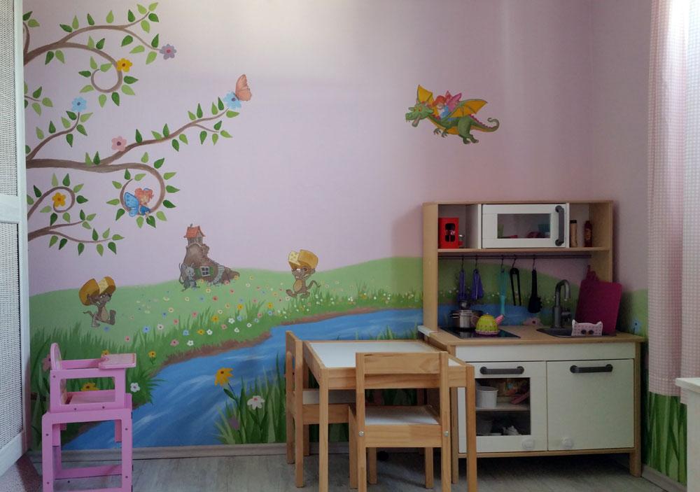 Kinderzimmer Malereien Mit Wunschmotiven Für Ihre Kleinen Und Großen