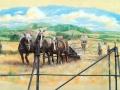 Tier und Jagdmalerei mit Feldarbeit