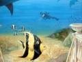 Tier und Jagdmalerei mit illusionsmalerei Unterwasserwelt