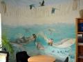 Tier und Jagdmalerei mit Gemalter Unterwasserwelt