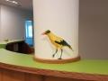 säulenbemalung mit vogel