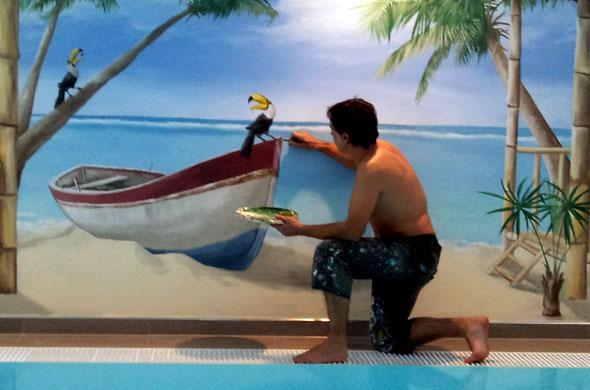 schwimmbad-beim-malen