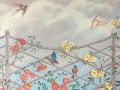 rosenranken am Zaun