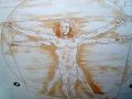 Deckenmalerei Da Vinci Vitruv