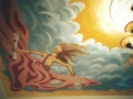 Deckenmalerei mit Justitia in Anwaltskanzlei