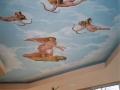 Deckenmalerei mit Motiv von Raffael
