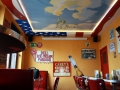 Deckenmalerei Liberty im Wolkenhimmel