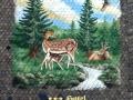 Tier und Jagdmalerei mit Rehen