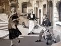 Wandmalerei und Portraitmalerei italienische Männer