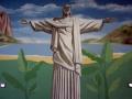 Portraitmalerei Christo in Rio de Janeiro