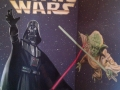 Wandmalerei mit Star Wars Motiven