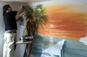 landschaftsmalerei thailand malen