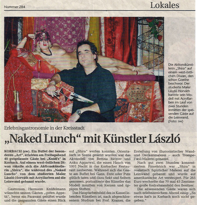 HNA Naked Lunch