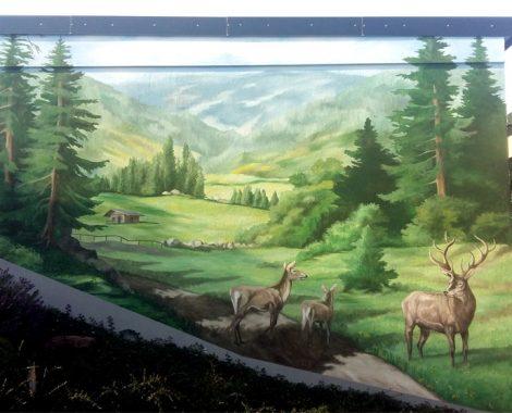 landschaftsmalerei odenwald fassadenmalerei